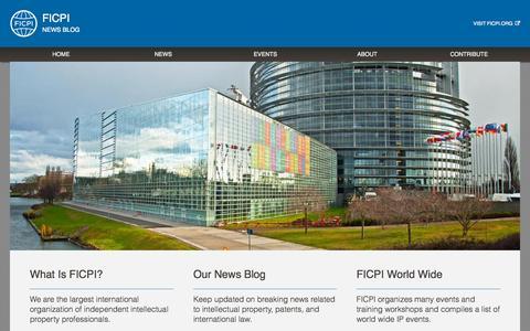 Screenshot of Blog ficpi.org - FICPI Blog - captured Sept. 12, 2015
