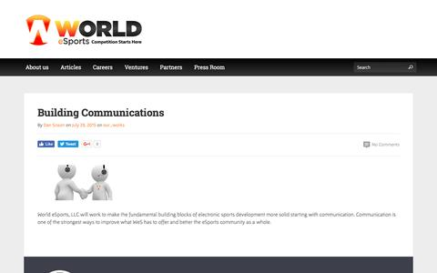 Building Communications | Competition Starts Here