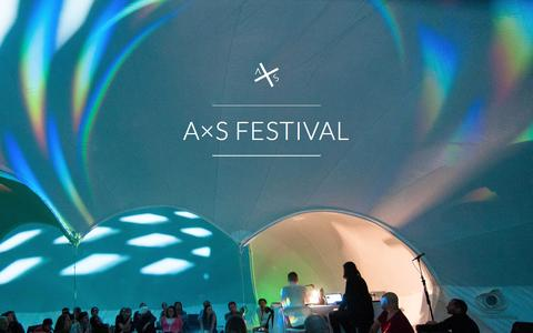 Screenshot of Home Page axsfestival.org - A×S FESTIVAL - captured May 8, 2016