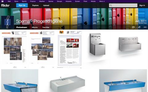 Screenshot of Flickr Page flickr.com - Flickr: Soema - Progetto Igiene's Photostream - captured Oct. 23, 2014