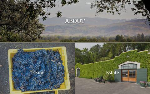 Screenshot of About Page staglinfamily.com - About – Staglin Family Vineyard - captured Jan. 14, 2020