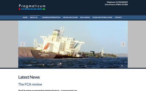 Screenshot of Press Page pragmaticum.com - News | Business Interruption Consultancy | Kent | Pragmaticum LTD - captured Oct. 2, 2014