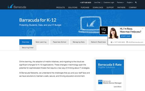Barracuda for K12 - Overview -    Barracuda Networks