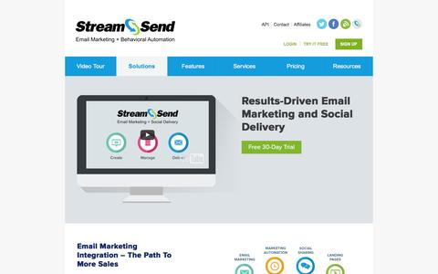 Results-Driven Email Marketing | Email Marketing Software | StreamSend