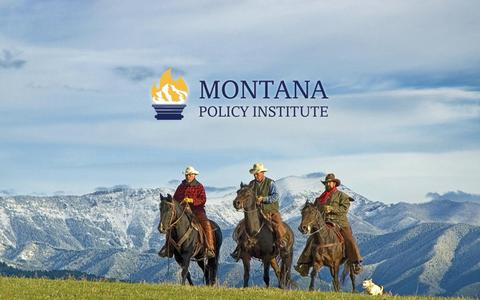 Screenshot of Home Page montanapolicy.org - MONTANA POLICY INSTITUTE | - captured Nov. 29, 2016