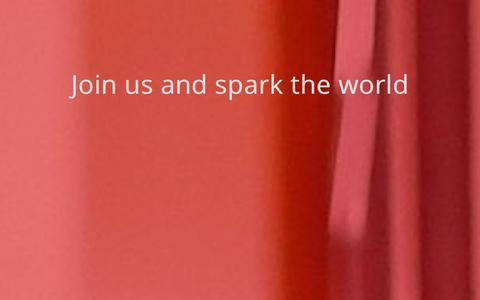 Screenshot of Signup Page selfspark.com - Self Spark - captured Oct. 7, 2014