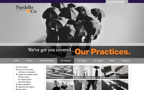 Our Practices - Nardello & Co.