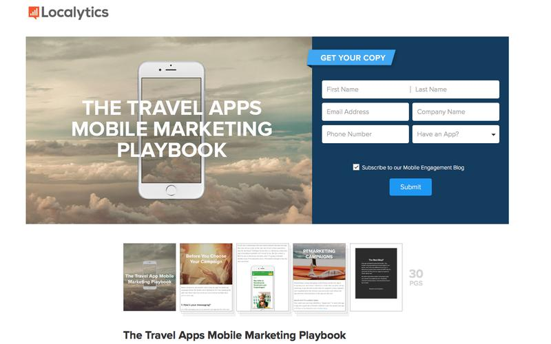 Free eBook: The Travel App Mobile Marketing Playbook