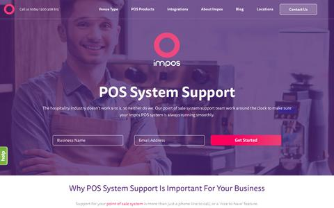 High Quality POS System Support for Simpler Service | Impos