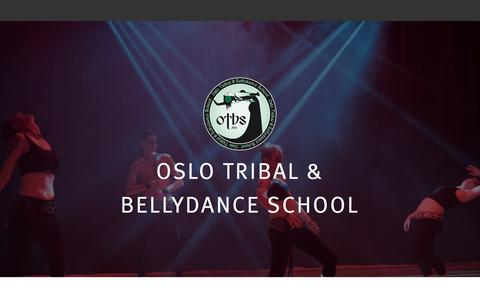 Screenshot of FAQ Page otbs.no - Ofte stilte spørsmål – Oslo Tribal & Bellydance School - captured Oct. 21, 2017