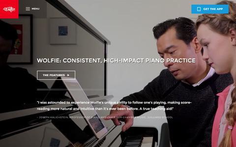 Screenshot of Maps & Directions Page tonara.com - Wolfie for piano app - Tonara and Wolfie for Piano - captured Dec. 3, 2015
