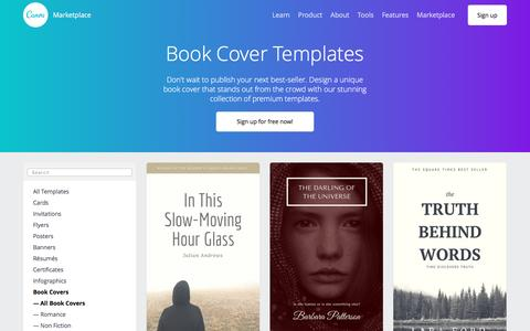 Book Cover Templates - Canva