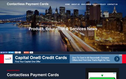Screenshot of About Page contactlesspaymentcards.com - Contactless Payment Cards - captured May 1, 2017