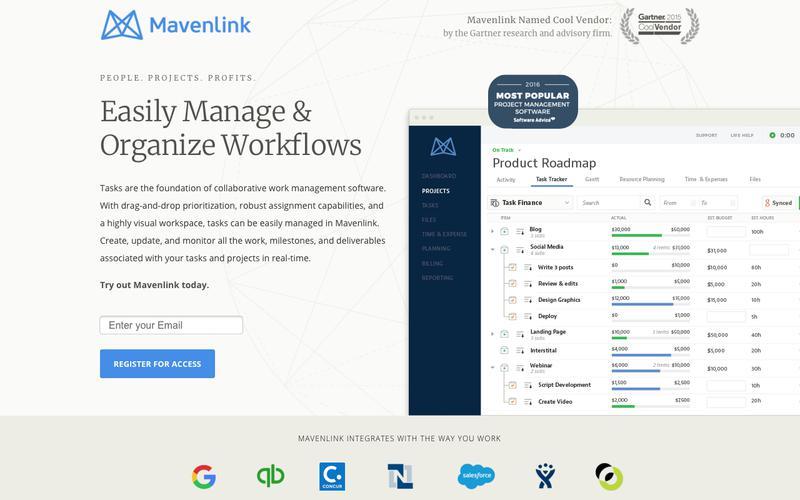 Work Management Software |  Mavenlink