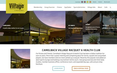 Screenshot of Locations Page villageclubs.com - View All Clubs | Village Clubs and Spas - captured Nov. 4, 2014