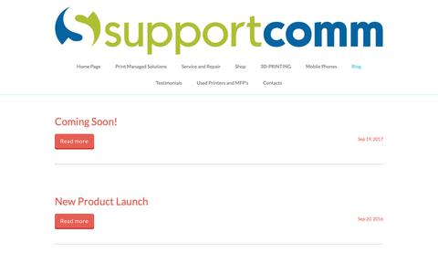 Screenshot of Blog supportcomm.co.uk - Supportcomm.co.uk - captured Oct. 19, 2018
