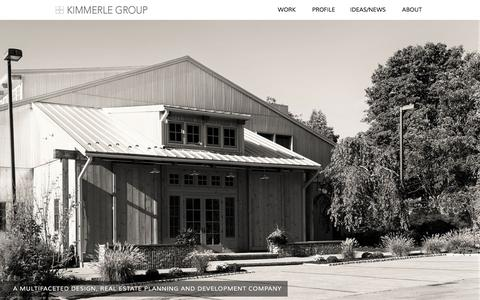 Screenshot of Home Page kimmerle.com - Kimmerle - captured Nov. 27, 2016