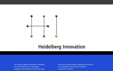 Screenshot of Home Page hd-innovation.de - Home - captured Sept. 28, 2018
