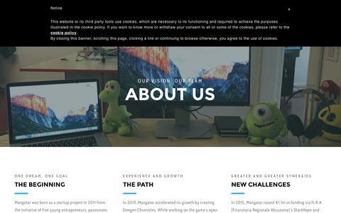 Screenshot of About Page mangatar.net - About — Mangatar - captured Nov. 19, 2016