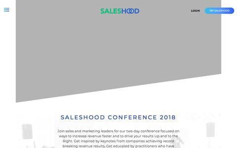 SalesHood - SalesHood Conference 2018