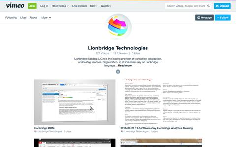 Lionbridge Technologies on Vimeo