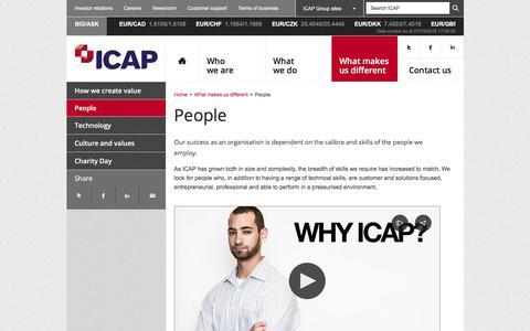 Screenshot of Team Page icap.com - People – ICAP - captured March 7, 2018