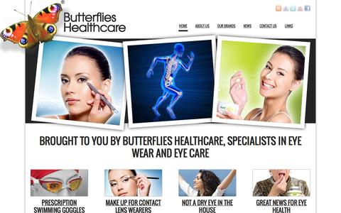 Screenshot of Blog butterflies-healthcare.co.uk - Butterflies Healthcare - Butterflies Healthcare - supplying, distributing and selling vitamins for macular eye health - Eye Care cosmetics & NATorigin for sensitive skin and eyes - a range of other products for dry eyes, general health, joint flexibi - captured Sept. 30, 2014