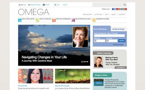 Omega | awakening the best in the human spirit