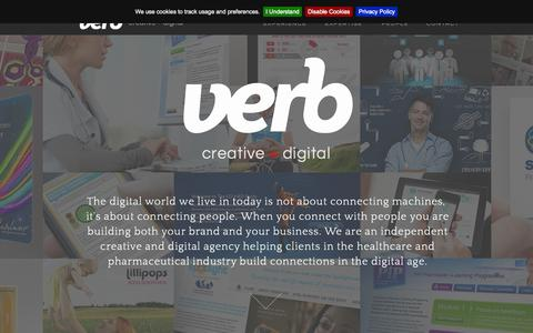 Screenshot of Team Page verb-agency.com - VERB Creative + Digital agency for Pharma - captured Oct. 9, 2014
