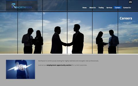 Screenshot of Jobs Page northpool.nl - Northpool   Careers - captured Oct. 7, 2014