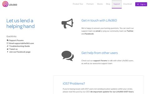 Consumer Services Support Pages on WordPress | Website