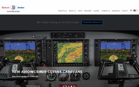 Screenshot of Home Page txtav.com - Home - captured July 10, 2018