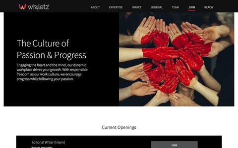 Screenshot of Signup Page whyletz.com - Join - Whyletz | Strategic Brand Management Company | UAE | INDIA - captured Sept. 22, 2018
