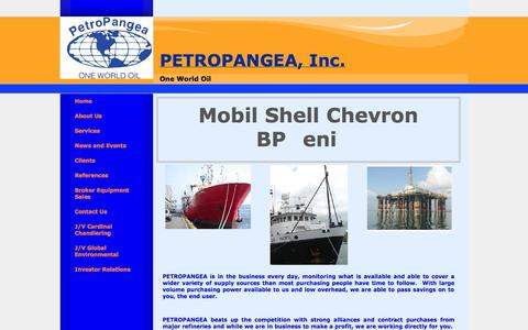 Screenshot of About Page globaloil.co - Petroleum Supplier Inc - captured Oct. 2, 2014