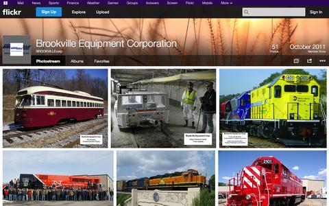 Screenshot of Flickr Page flickr.com - Flickr: BROOKVILLEcorp's Photostream - captured Oct. 23, 2014