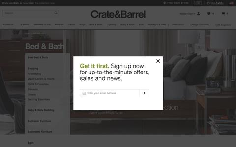 Bed and Bath   Crate and Barrel