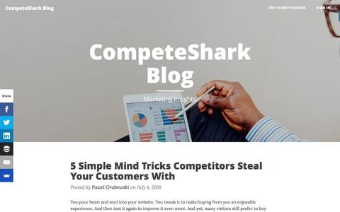 CompeteShark Blog - Competitive Insights for the Modern Marketer