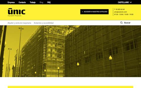 Screenshot of Blog catunic.com - BLOG | UNIC - captured Nov. 10, 2018