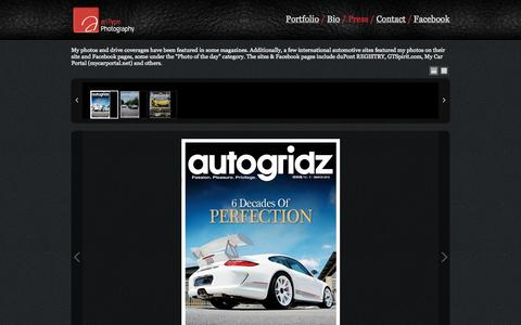 Screenshot of Press Page antype.com - anType Photography - captured Oct. 4, 2014