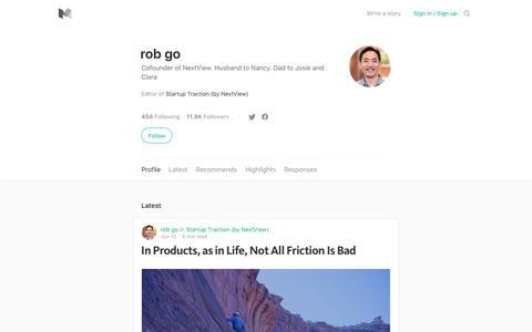 rob go – Medium