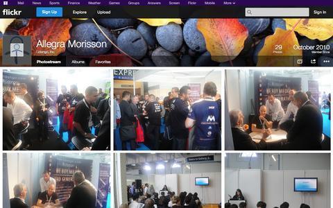 Screenshot of Flickr Page flickr.com - Flickr: Lidango, Inc.'s Photostream - captured Oct. 22, 2014