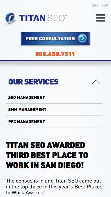 Titan SEO Awarded Third Best Place to Work in San Diego!