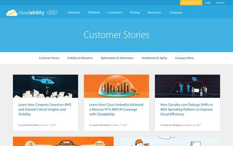 Customer Stories Archives
