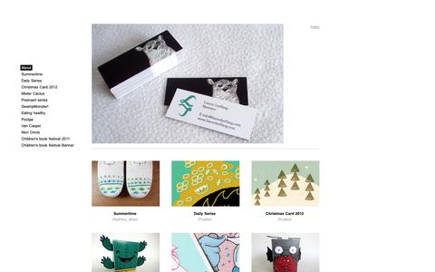 Screenshot of About Page cargocollective.com - About - Lianne Leeflang   Illustrator - captured Dec. 15, 2018