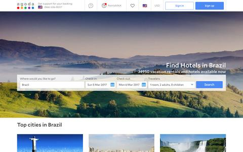 Brazil Hotels - Online hotel reservations for Hotels in Brazil