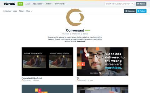 Conversant on Vimeo