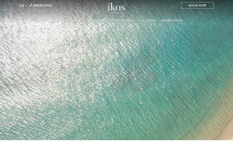Screenshot of Terms Page ikosresorts.com - Terms & Conditions | Ikos Resorts - captured Oct. 21, 2018