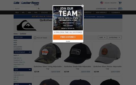 Quiksilver Hats, Caps, Apparel, Clothing | lids.com