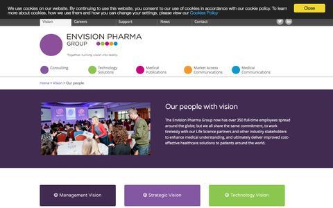 Screenshot of Team Page proscribe.com.au - Envision Pharma Group Our people | Envision Pharma Group - captured Aug. 25, 2017