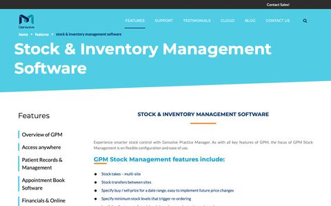 Screenshot of Team Page gensolve.com - Online Inventory and Stock Management Software Australia - Gensolve - captured Sept. 27, 2018